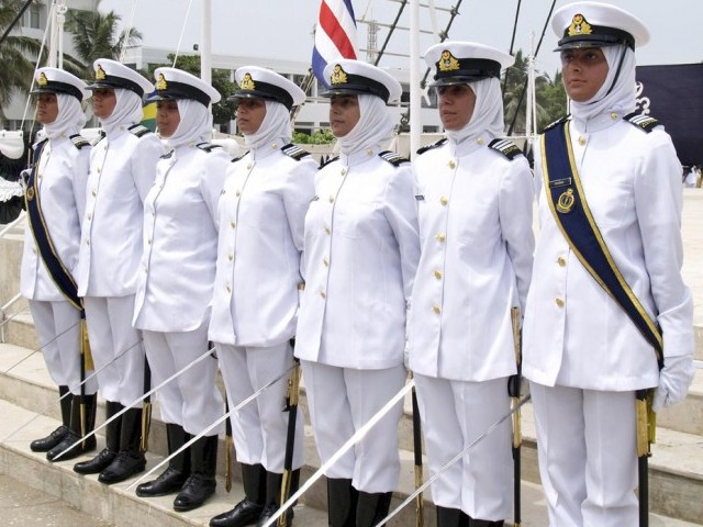 How to Girls Join Pakistan Navy After Matric Inter BA and MA Degree