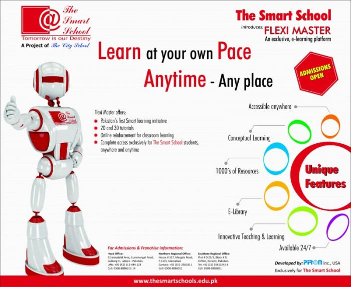 The Smart School System Admission Test Procedure with Fee Structure