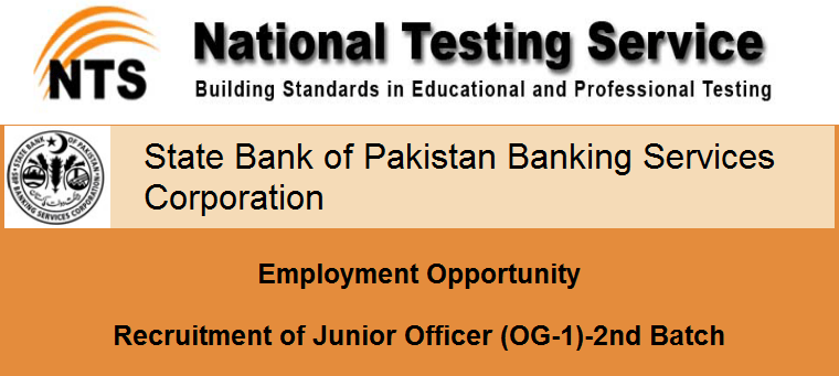 SBP-BSC Jobs 2015 NTS Test Result Candidates List for Selection Interview