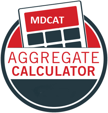 How MCAT AGGREGATE/MERIT CALCULATOR Online for Admission in MBBS BDS
