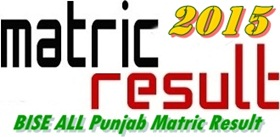 All Punjab Boards Matric Class Result 2015