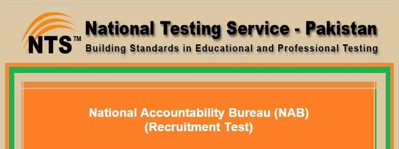 NAB NTS Jobs 2016 Online Test Preparation Online Form Syllabus Paper Pattern