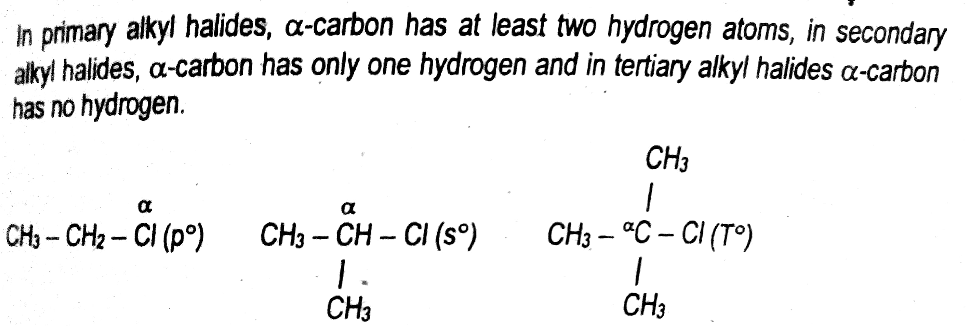 12th Class Chemistry Chapter 10 Alkyl Halides Short Questions Answer