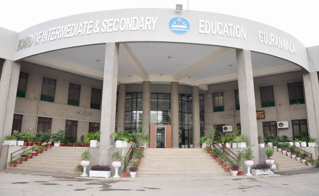 BISE Gujranwala Online Matric and Inter Admission Forms Fee schedule 2016