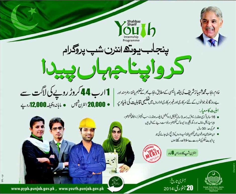 PYIP Selected Candidates List 2021 Punjab Youth Internship Program City Wise Final Mail Message Status