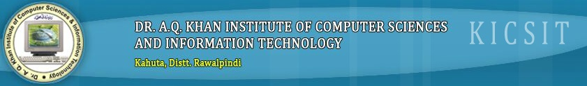 Dr. A.Q. Khan Institute of CS and IT NAT Entry Test 2016 Online Preparation