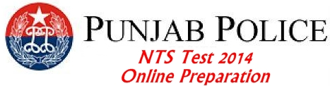 Punjab Police Constable Jobs NTS Test 2014 Online Preparation and Sample Papers
