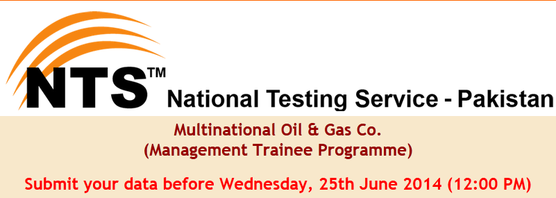 Management Trainee Program NTS Test Online Preparation
