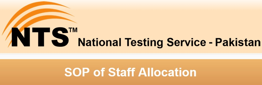 NTS SOP of Staff Allocation 2014 English and Urdu