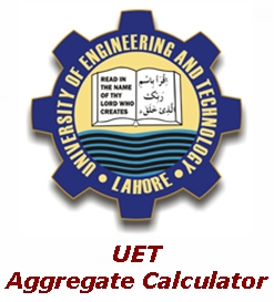 UET Test Marks Aggregate
