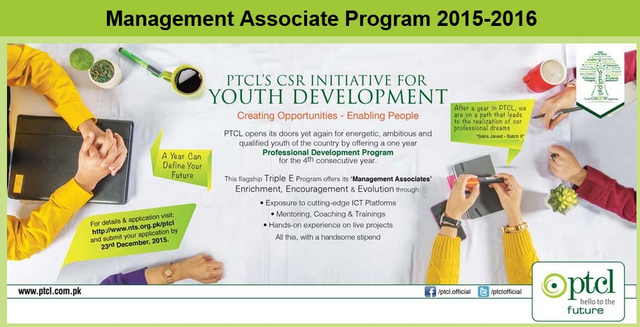 PTCL One Year Internship 2015