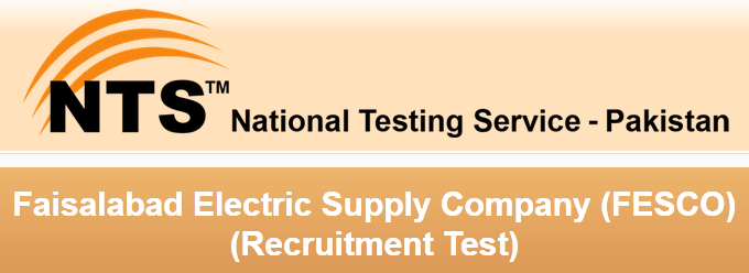 FESCO Jobs 2016 NTS Test Online Preparation