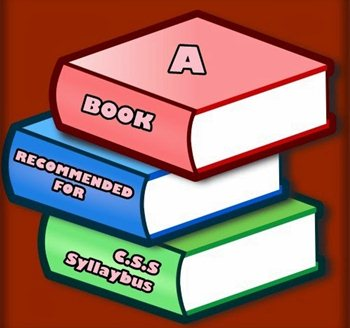 Best books List for CSS Preparation