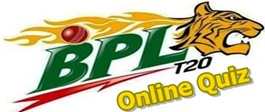 Bangladesh Premier League Online Quiz