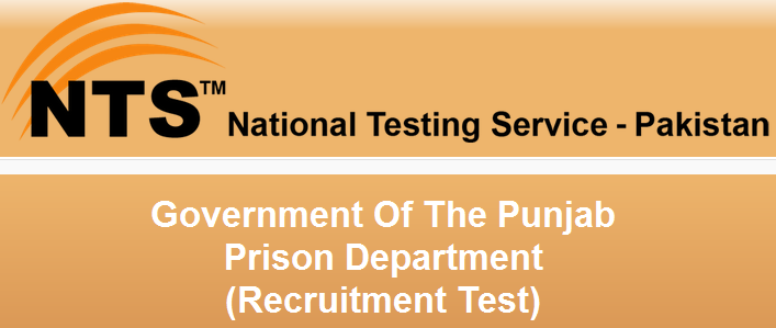 Punjab Jail Police NTS Jobs 2016