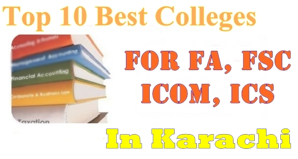 Top 10 Best Colleges For Students With >> Top 10 Best Colleges In Karachi For Admission In Inter Fa Fsc Ics