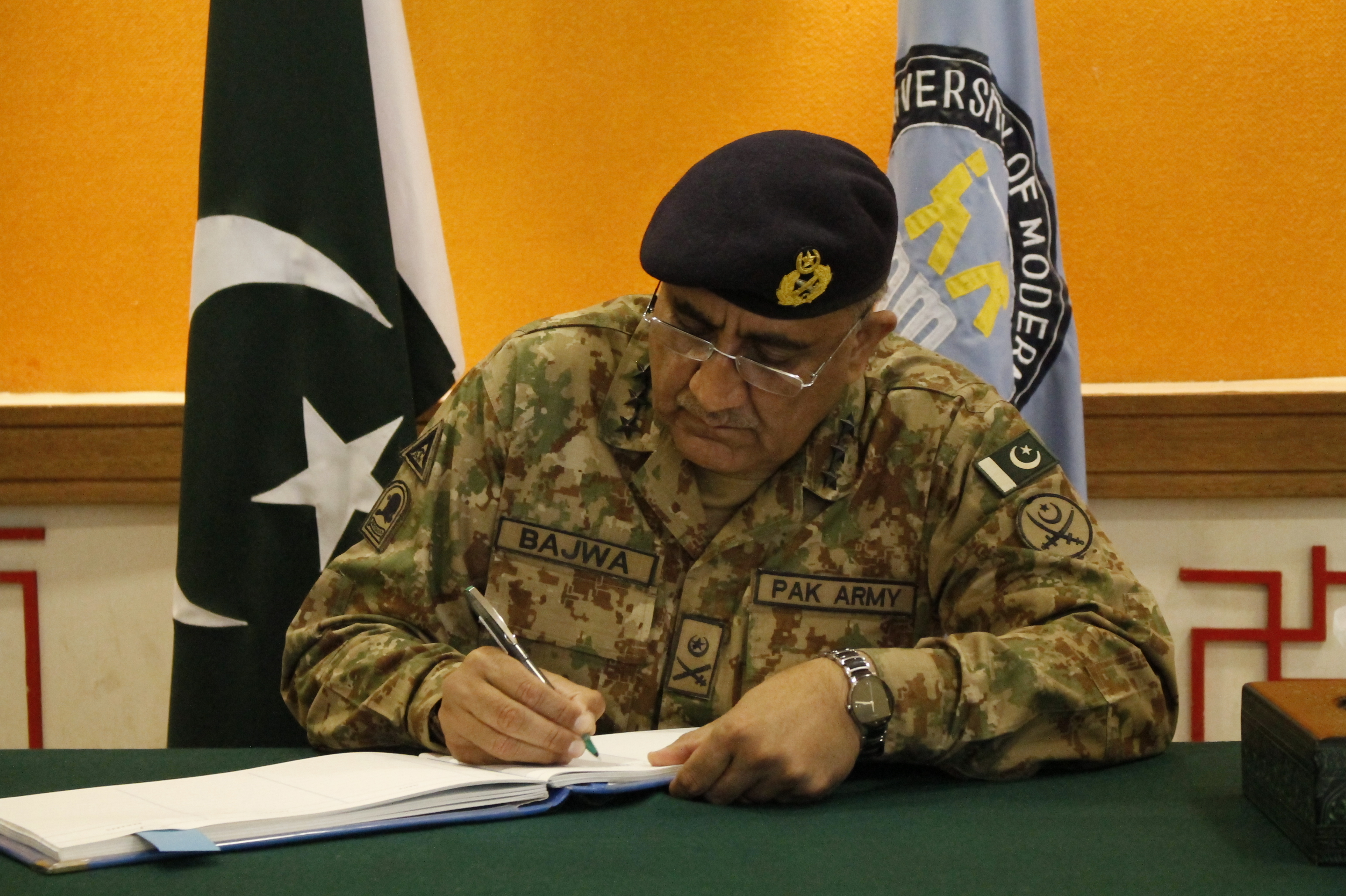 General Qamar Javed Bajwa is New Pakistan Army Chief