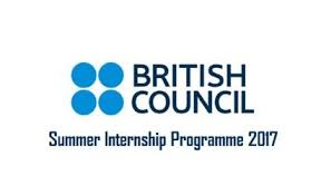 British Council Summer Internship 2017