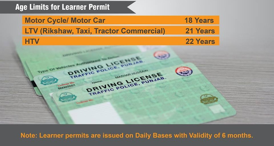 learning licence check