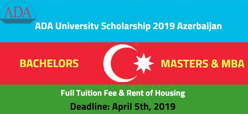 ADA University Azerbaijan Scholarship 2019 Bachelor and Masters