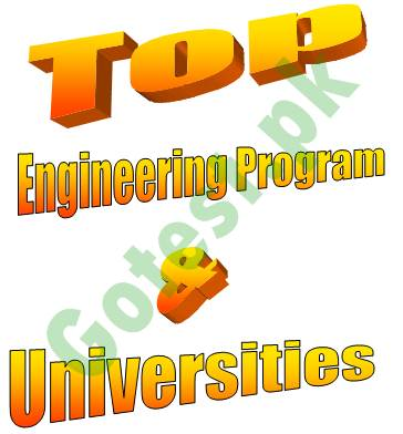 Engineering Degree Program at Bachelor Level in Pakistan