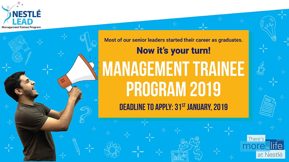 Nestle Management Trainee 2019 Program Pakistan Apply Online Application Salary Test Interview