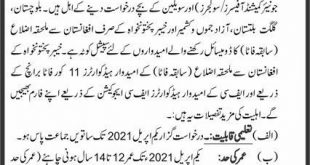 Military College Murree Admission Entry Test 2021